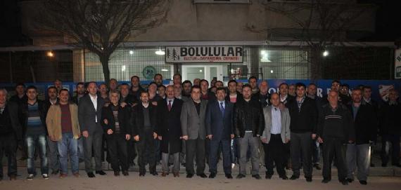 Karabacak'tan dernek ziyaretleri