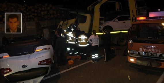 Fatsa'daki kazadan can verdiler