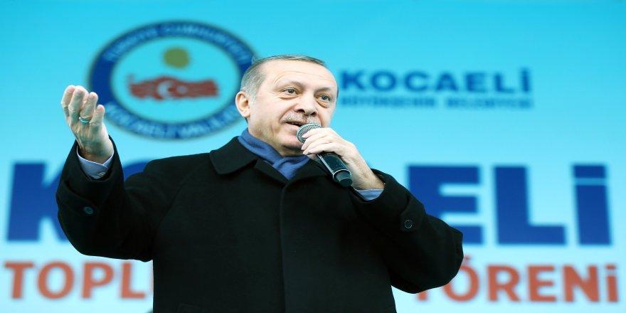 """Cumhurbaşkanı Erdoğan: """"Er ya da geç Kemal gidicidir"""""""