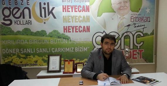 Genç Saadet belediyeyi tebrik (!) etti