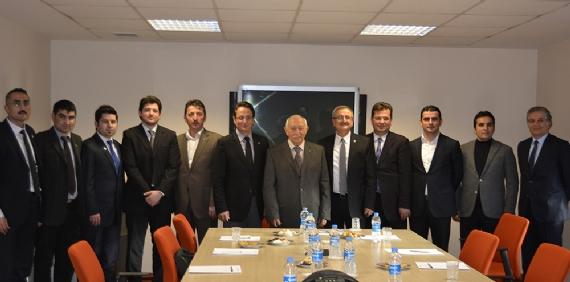 KASİAD Kibar Holding'i ziyaret etti