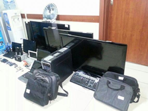 Hırsızlık operasyonunda 14 kişi gözaltına alındı
