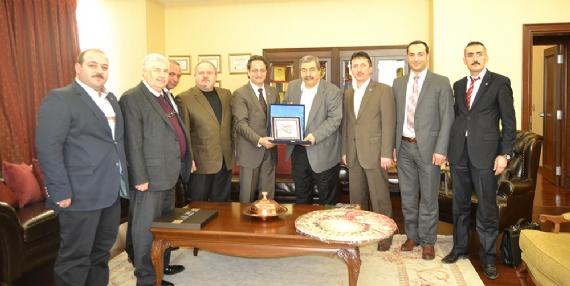 KASİAD'dan Sanko Holding'e ziyaret