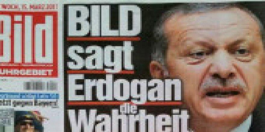 Alman gazetesinden küstah Erdoğan manşeti!