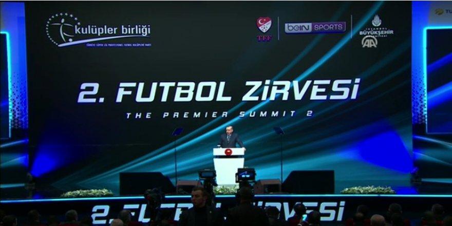 Cumhurbaşkanı'nın Uluslararası Futbol Zirvesi konuşması