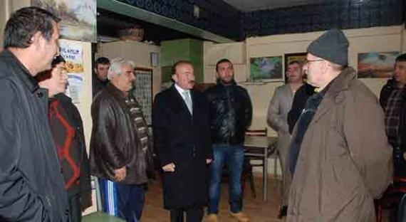 Başkan Doğan ziyaretlere devam ediyor