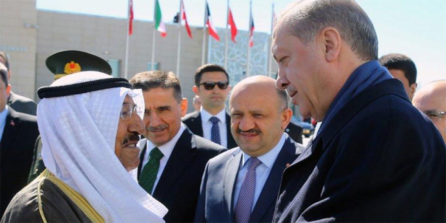 Cumhurbaşkanı Erdoğan, Kuveyt Emirini uğurladı