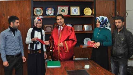 Başkan Yaman gençlerden 3 çocuk sözü aldı