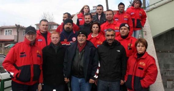 Gönüllü İtfaiyeciler Avluburun'da buluştu