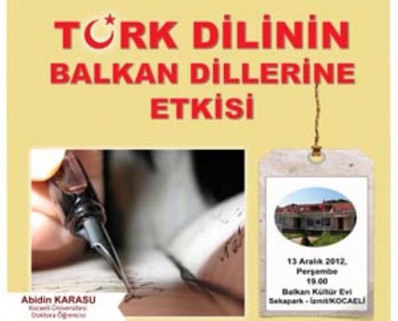 Türk Dilinin Balkan Dillerine Etkisi
