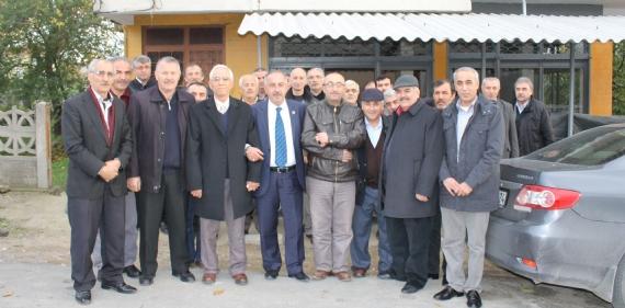 Başkandan Erzincanlılara ziyaret