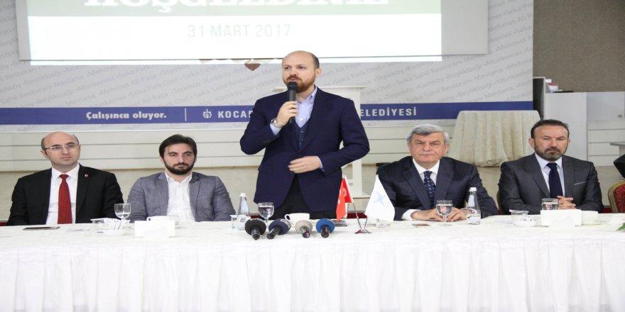 Bilal Erdoğan,Kocaeli'de CHP liderine yüklendi