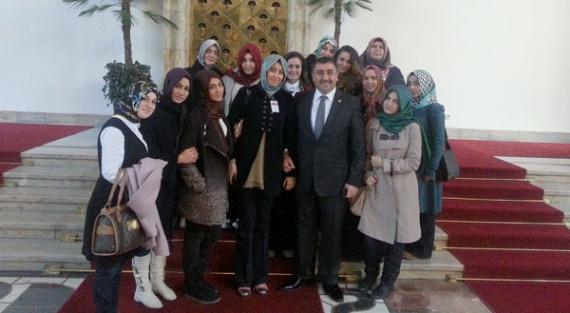 Çırağan Anadolu Lisesi Öğrencileri Meclis'te