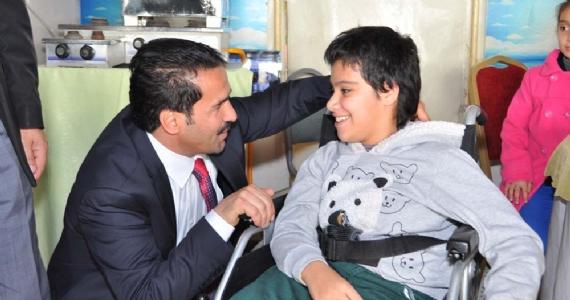 Başkan Yaman'dan engellilere sosyal tesis!