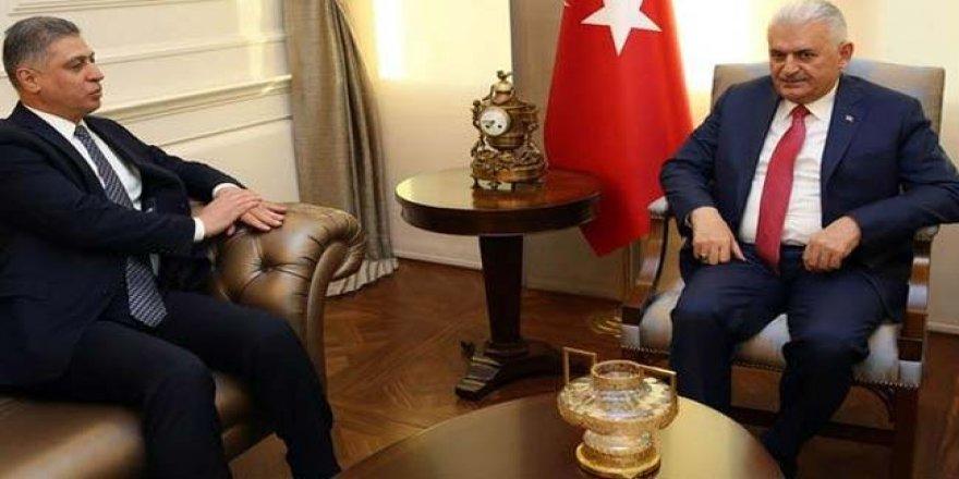 Başbakan Yıldırım, Irak Türkmen Cephesi Başkanı Salihi'yi kabul etti