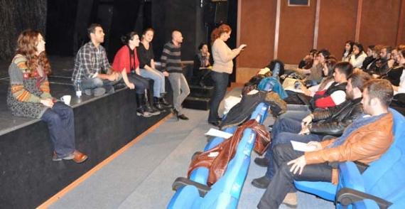 Tiyatro Okulu'nda ilk ders