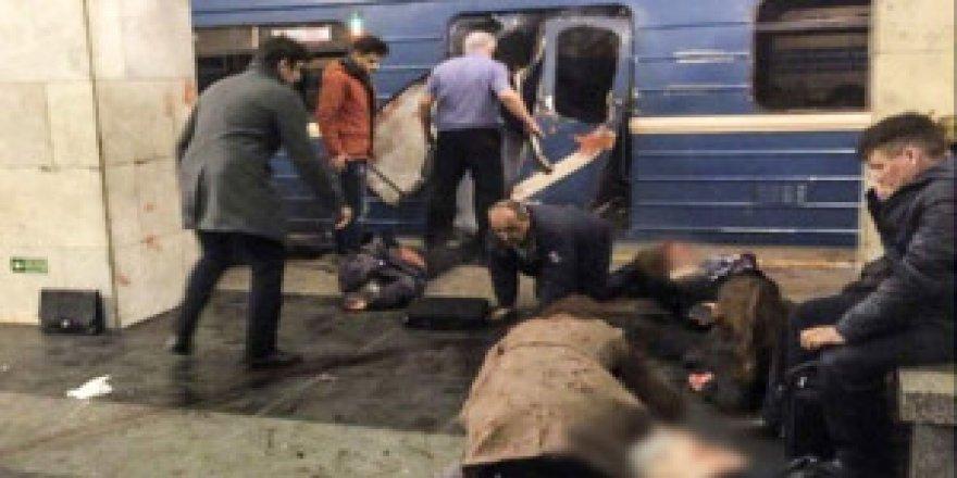 Rusya'daki metro katliamının canlı bomba saldırısı olduğu belirlendi
