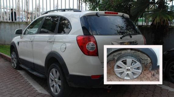 TEM'deki kovalamacada hırsızın aracının lastiği çıktı