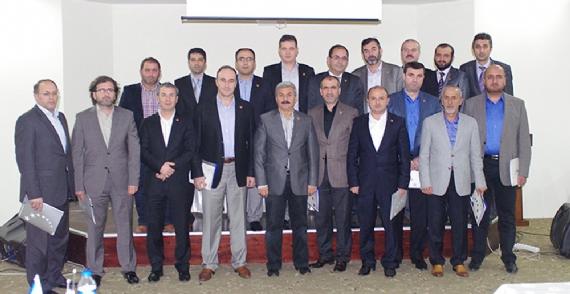 TÜMSİAD bölge toplantısına katıldı