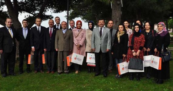 Başkan Karabacak öğretmenleri unutmadı
