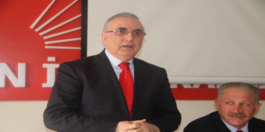 CHP'li Öğüt, referandum için Ardahan'da