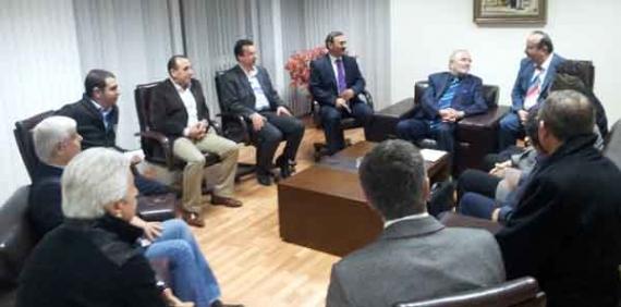 KONSİAD  yönetimi Akım Metal'de toplandı