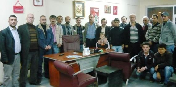Beylikbağı MHP'den Taşdemir'e destek!