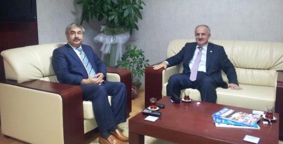 Milletvekili Aygün'den SGK İl Müdürlüğüne Ziyaret