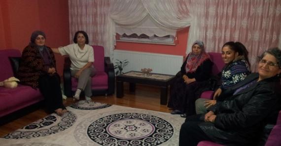 CHP'li kadınlar ziyaretlere devam ediyor