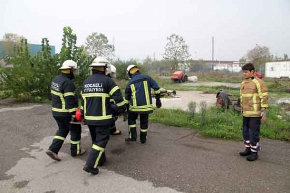 Büyükşehir'den Moldovalı itfaiyecilere eğitim!