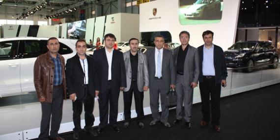 GTO üyeleri otomobil fuarını ziyaret etti