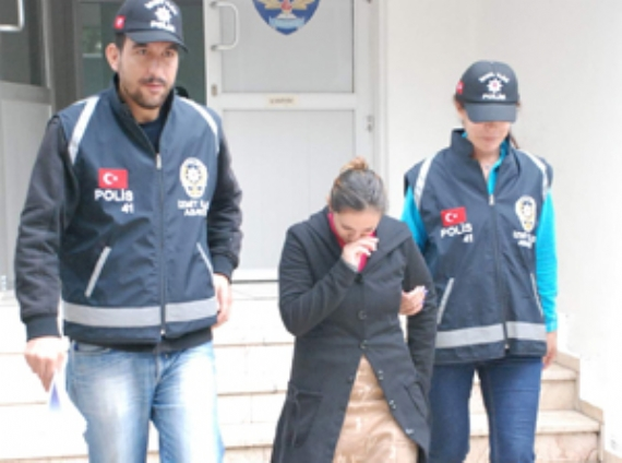 Cezaevi ziyaretine gelince tutuklandı