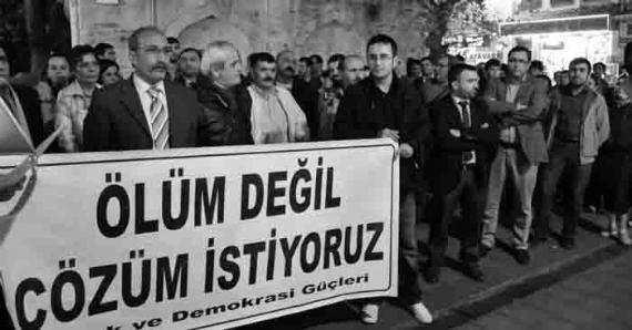Gebze Demokrasi Güçleri haykırdı!