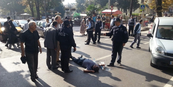 İzmit'te trafik kazası!