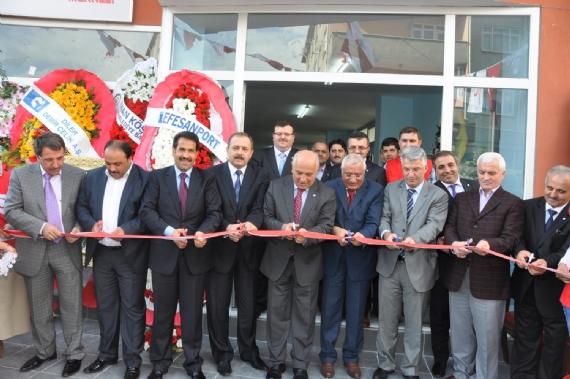 Dilovası Kızılay binası açıldı!