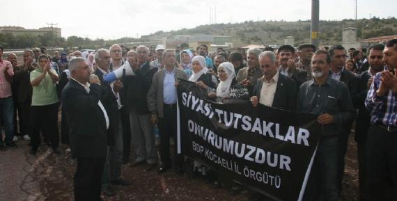 BDP'lilerden açlık grevi eylemi!