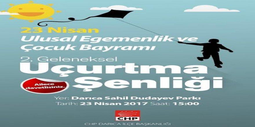 CHP DARICA'DAN UÇURTMA ŞENLİĞİ DAVETİ