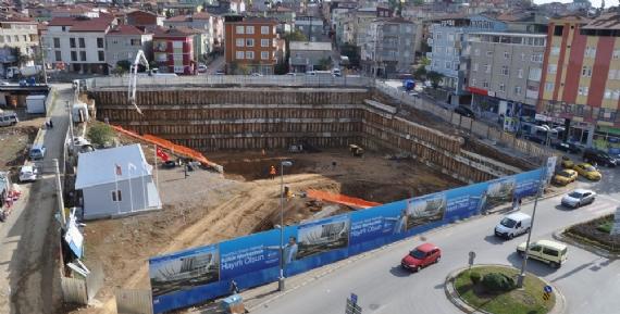 Kültür Merkezi'nin inşaası sürüyor!