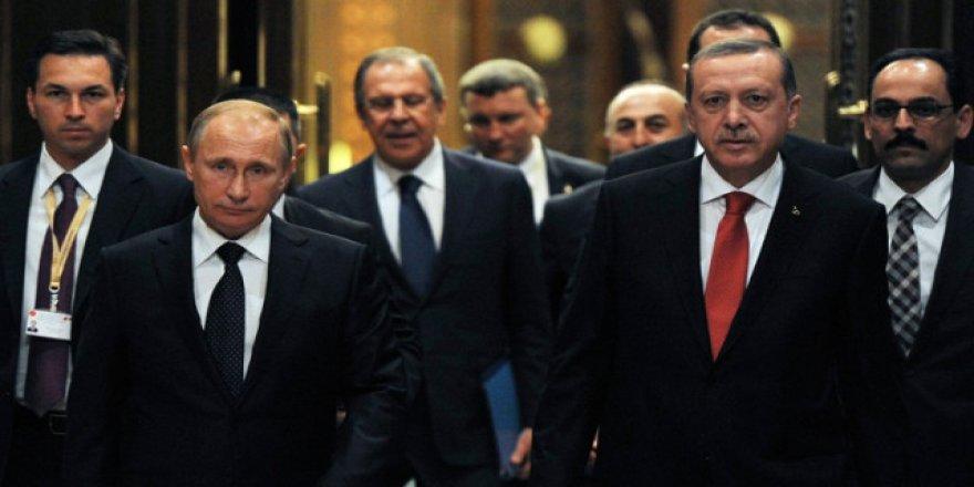 ERDOĞAN, PUTİN'LE GÖRÜŞMEK İÇİN RUSYA'YA GİDİYOR