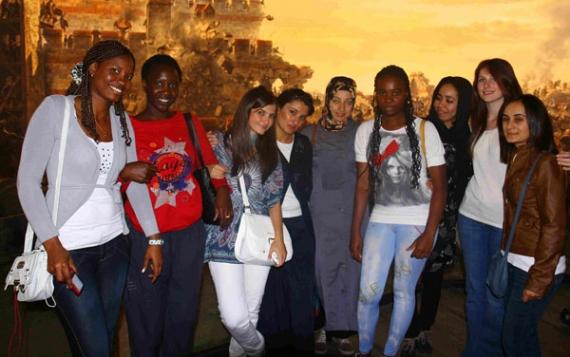 Misafir öğrenciler İstanbul'u gezdi!