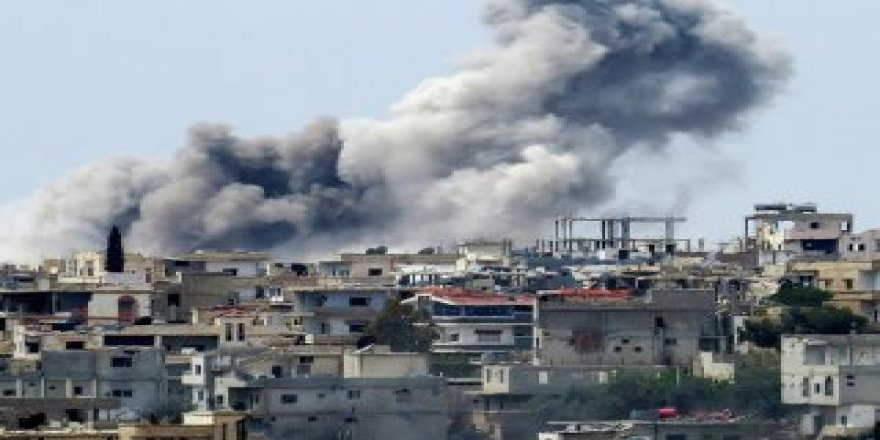 Esad rejiminden İdlib'e hava saldırısı