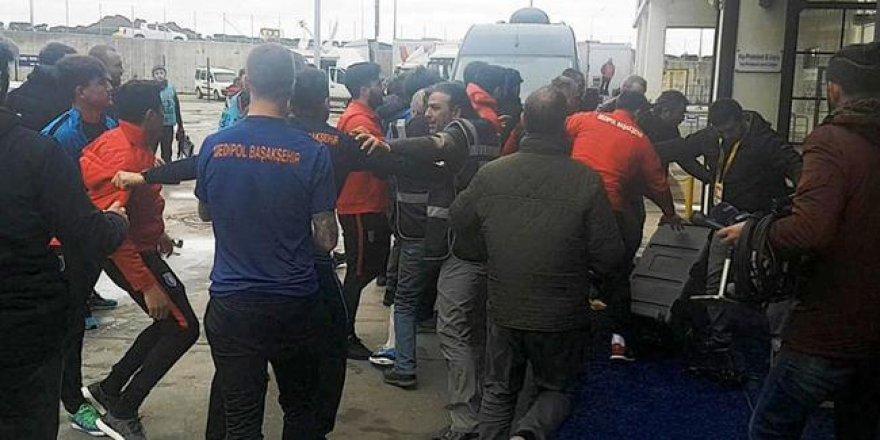 Başakşehir olaya karışan iki futbolcuyu kadro dışı bıraktı
