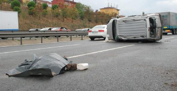 Trafik kazası: 1 ölü 1 yaralı!
