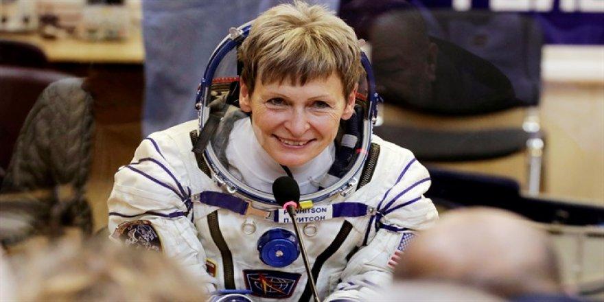 Kadın astronot, bir rekor daha kırdı