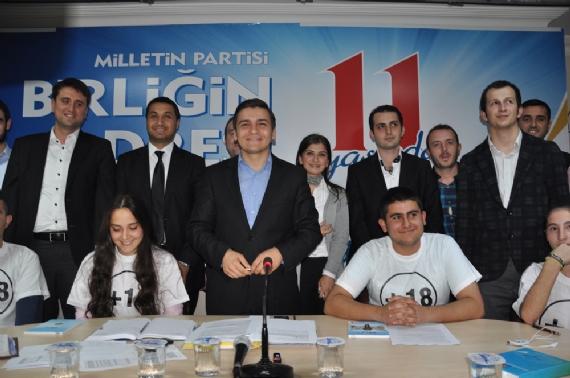 18'lik AKP'lilerden yaş açıklaması!