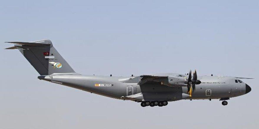 Beşinci Airbus A400M 'Atlas' test uçuşunda