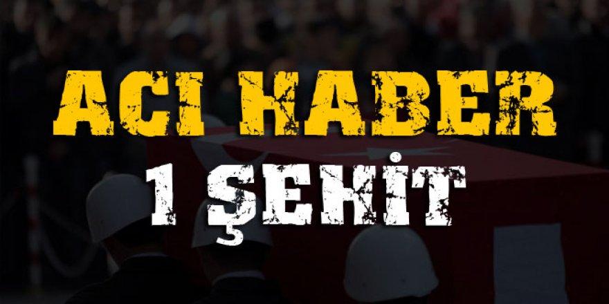 Bitlis'te patlama: 1 şehit