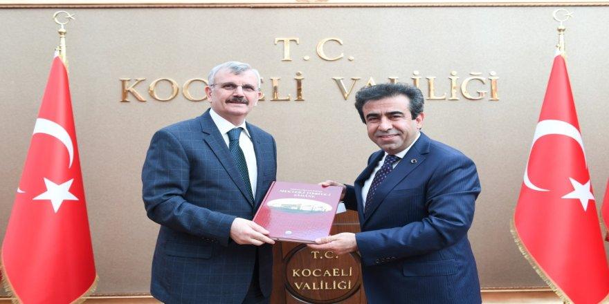 Rektörden Vali Güzeloğlu'na ziyaret
