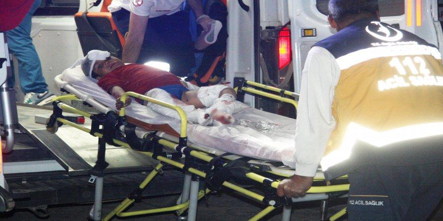 El Bab'da el yapımı patlayıcı infilak etti: 4 yaralı