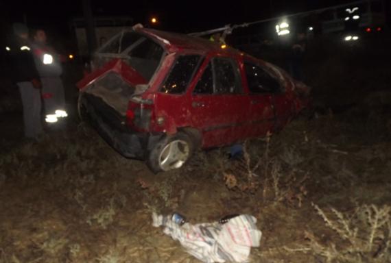 Alkolden ehliyeti alınan kişi alkollüyken kaza yapıp öldü!
